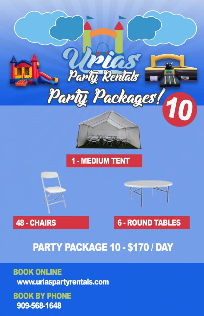 Party Package 10