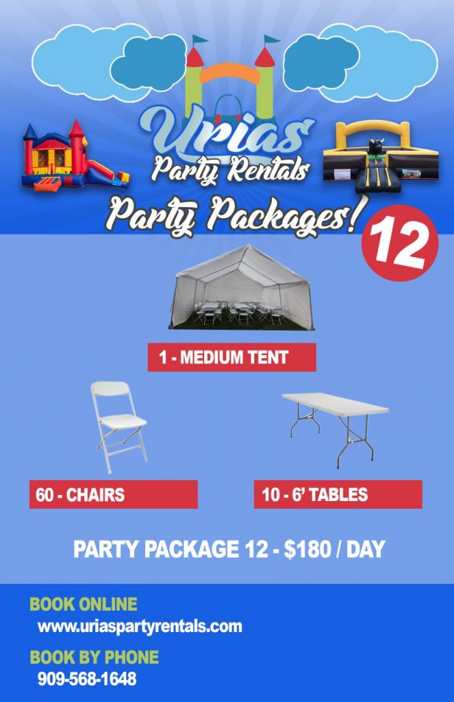 Party Package 12